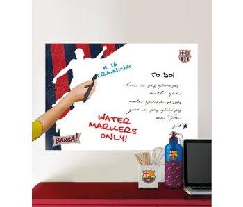 FC Barcelona Wall Sticker White Board 45x65cm player