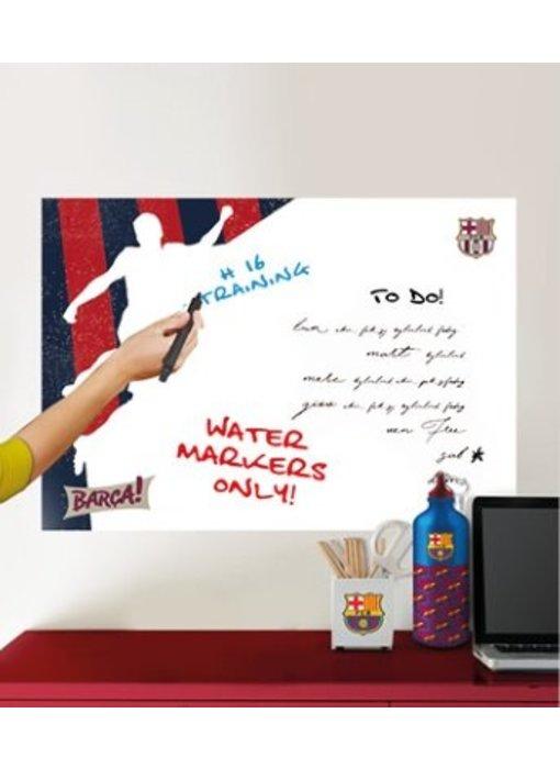 FC Barcelona muursticker White Board player 45x65cm