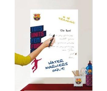 FC Barcelona Conseil mur blanc de 45x65cm sticker logo