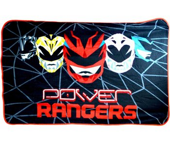 Power Rangers Fleece Plaid Geo Shard 100x150cm