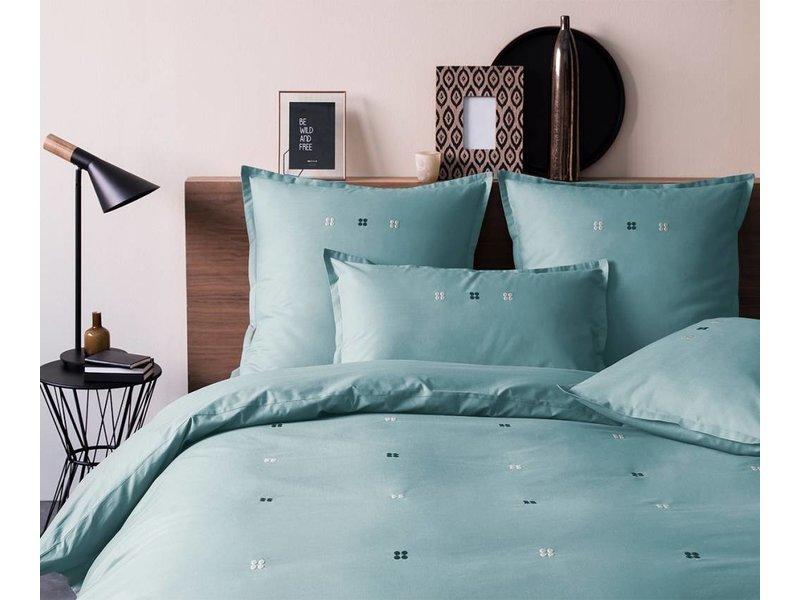 Matt & Rose Dragees Delices - Decoration Cushion - 50 x 70 cm - Grey-Blue