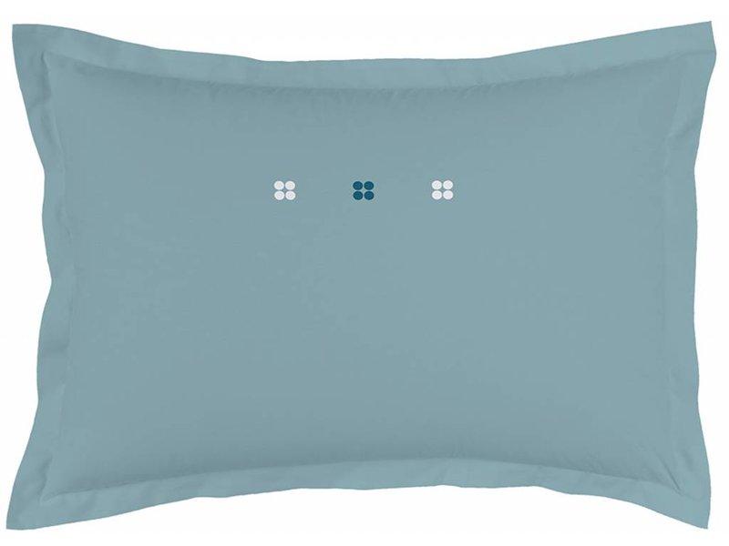 Dragées Delices Deko Kissen 50 X 70 Cm Grau Blau