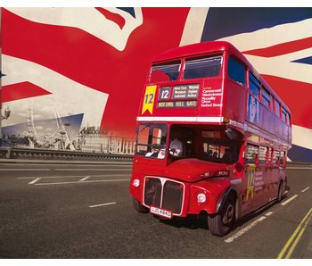 Londen Mural London Bus