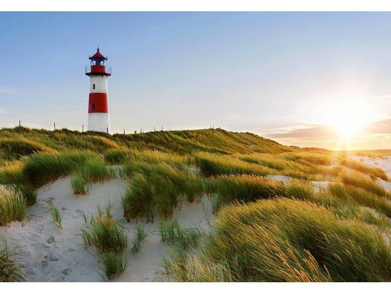 Fotobehang - Leuchtturm - 366 x 254 cm - Multi-