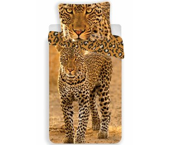 Animal Pictures Duvet cover Leopard 140x200 + 70x90cm