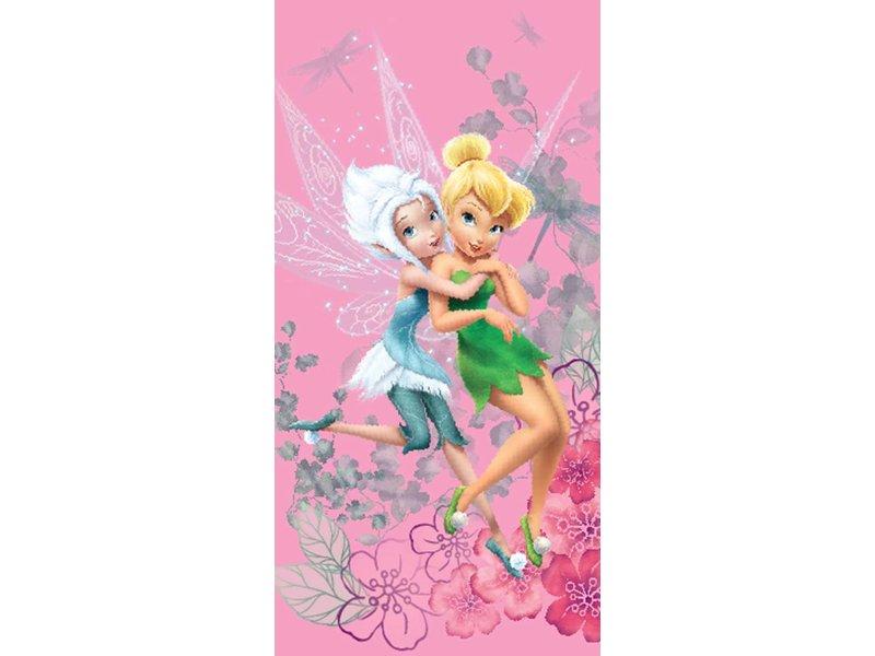 ... Disney Fairies Tinkerbell Winter - Beach towel - 70 x 140 cm - Pink