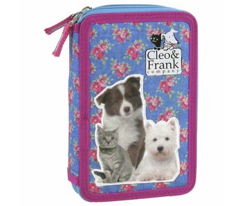 Cleo & Frank Filled Pencil case