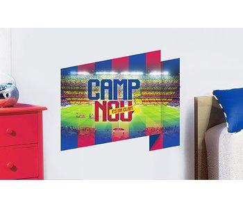 FC Barcelona Wall Sticker Camp Nou 50x70cm