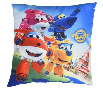 Super Wings Ornamental cushion 4 heroes 40x40cm