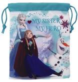 Disney Frozen - Lunch Bag - 25 x 20 cm - blau