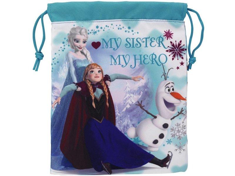Disney Frozen - Lunch tas - 25 x 20 cm - Blauw