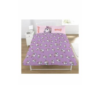 Emoji Duvet cover Unicorn 2-person 200x200 + 50x75cm