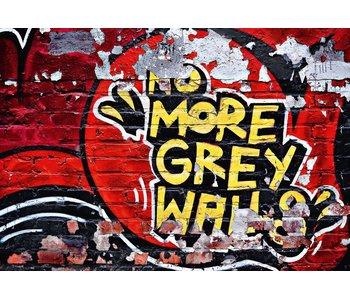 Fotobehang No More Gray Walls 366x254 cm