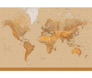 Fotobehang The World 366x254 cm
