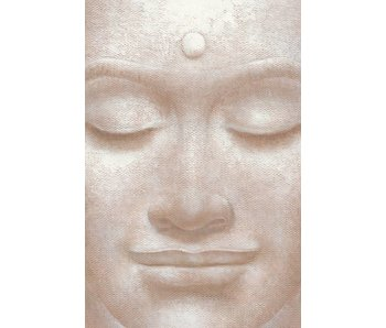 Fotobehang Sourire de Bouddha 115x175 cm