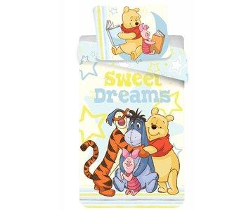 Disney Winnie the Pooh Sweet Dreams Bettbezug 140x200cm + 70x90cm