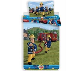 Brandweerman Sam Aktion Bettbezug 140x200cm + 70x90cm