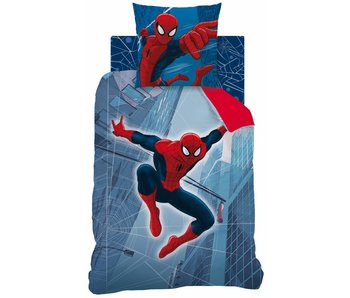 Spider-Man Quilt cover Tower reversible 140x200cm + 63x63cm 100% cotton