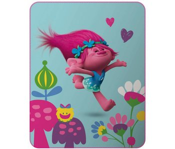 Trolls Cute plaid 110x140cm Polyester