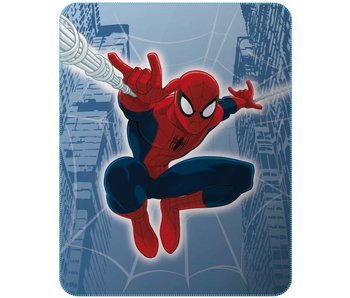 Spider-Man Plaid Tower 110x140cm Polyester