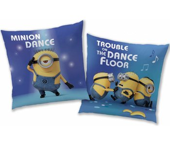 Minions Cushion dance 40x40cm polyester