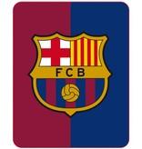 FC Barcelona Fleece deken Officieel - 110 x 140 cm - Multi