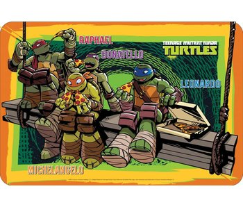 Teenage Mutant Ninja Turtles napperon 43x29cm