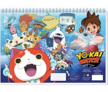 Yo-Kai Watch Dessin 23x33cm Pad