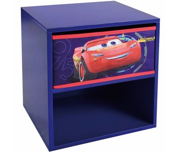 Disney Cars Nachttisch mit Schubladen 36x33x30cm