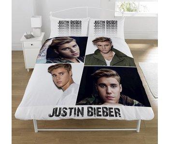 Justin Bieber Dekbedovertrek Montage 2-persoons 200x200+50x75cm