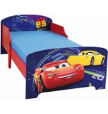 Disney Cars - Lit enfant - 70 x 140 cm - Multi - Sommier à lattes inclus