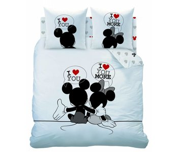 Disney Minnie Mouse Housse de couette The End Lits Jumeaux