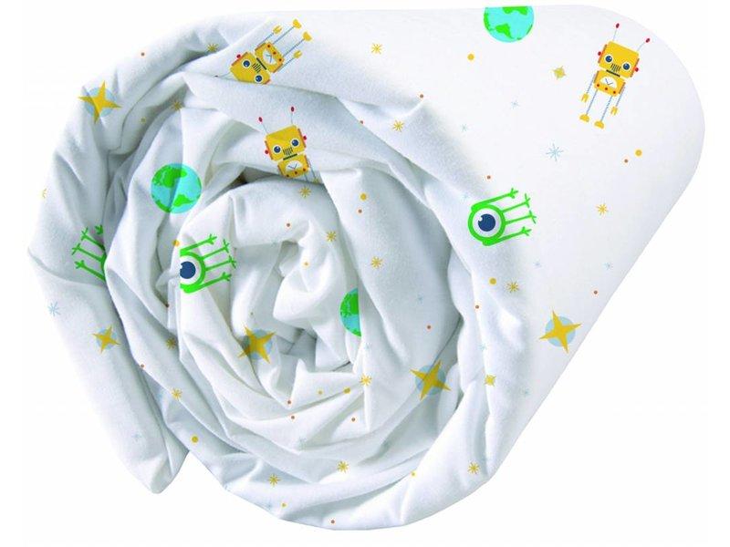 Matt & Rose Raum - Spannbettuch - Single - 90 x 200 cm - Multi-