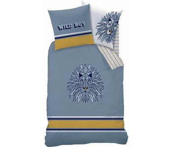 Matt & Rose Duvet cover Wild 140x200 + 63x63cm