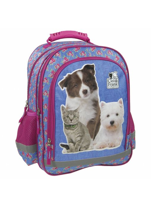 Cleo & Frank Backpack 38 cm Cat and Dog