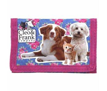 Cleo & Frank Wallet Katze und Hund