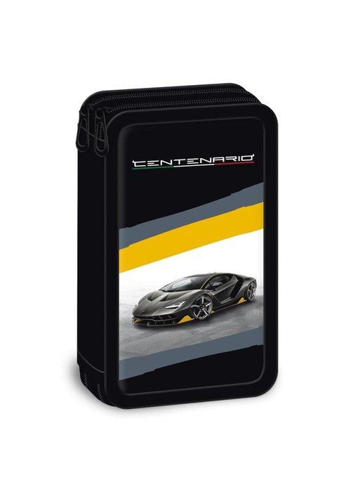 Lamborghini Case Centenario 19 cm two zippers