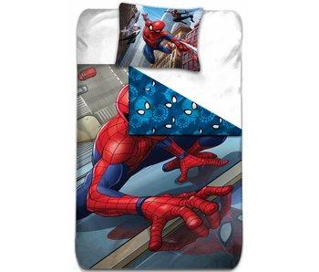 Spider-Man Housse de couette 140x200 + Grimpeur de 63x63cm