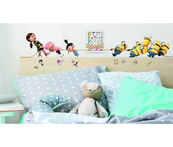 Minions Wall Decal Despicable 3 Tug of War