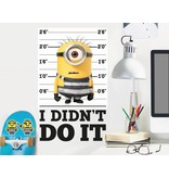 Minions Despicable 3 I did not do it - Wall Decal - Multi