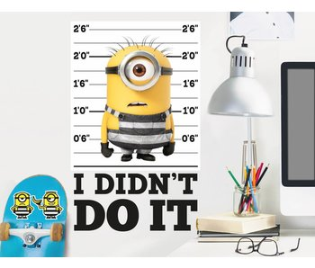 Minions Wall Decal Despicable 3 I did not do it