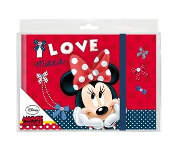 Disney Minnie Mouse Elastic diary