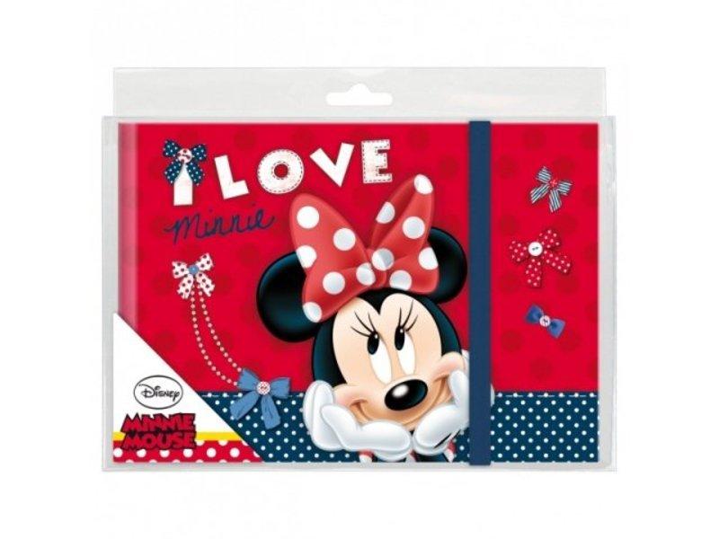 Disney Minnie Mouse Dagboek Elastiek