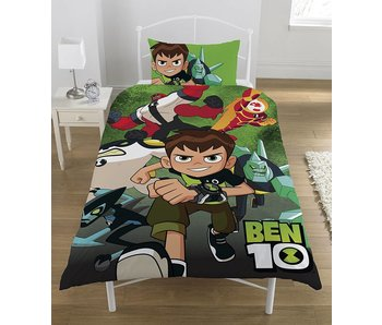 Ben 10 Go Hero - Housse de couette - Single - 135 x 200 cm - multi