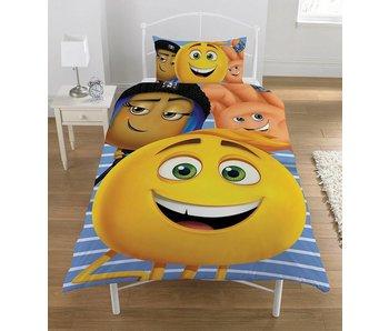Emoji Movie - Dekbedovertrek - Eenpersoons - 135 x 200 cm - Multi