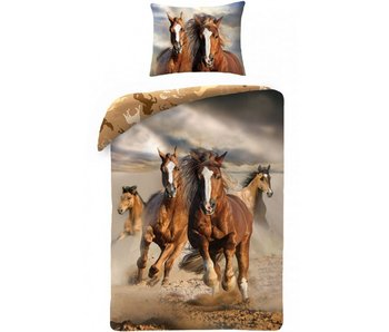 Animal Pictures Duvet cover Horses 140x200cm