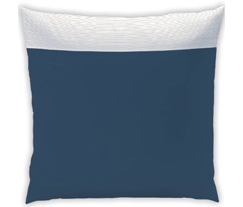 Matt & Rose Coussin plissé bleu nuit 65x65 Tendance cm