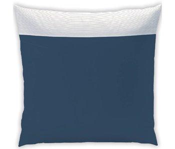 Matt & Rose Pillow case Plissé Tendance Night blue 65x65 cm