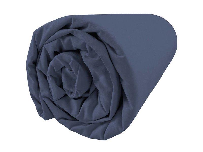 Matt & Rose Dragées délices - Spannbettlaken - Doppel - 160 x 200 cm - Blau