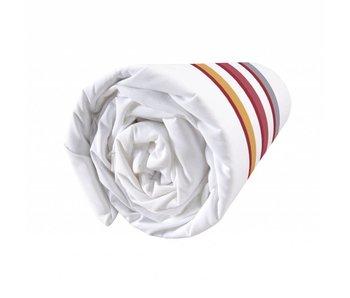 Matt & Rose Esprit équipée en terre cuite 140x200 cm graphique